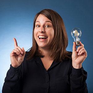 Karen, de enthousiaste CEO van Datalink